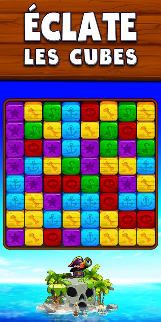 éclate les cubes