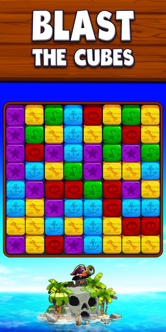 Blast the cubes